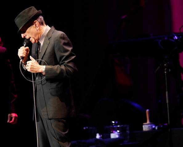 Leonard Cohen (Jemal Countess/Getty Images)