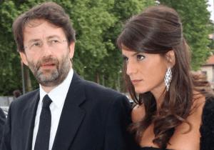 Dario Franceschini e la moglie (Websource)