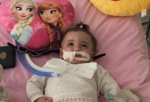 La piccola Marwa si è risvegliata (Websource)