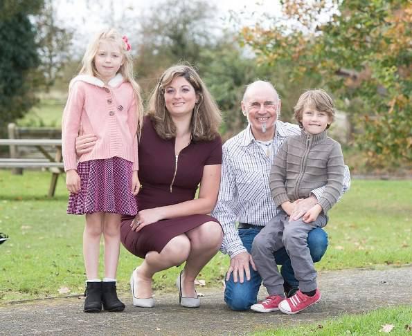 La famiglia di Lisa Hatherly (foto dal web)