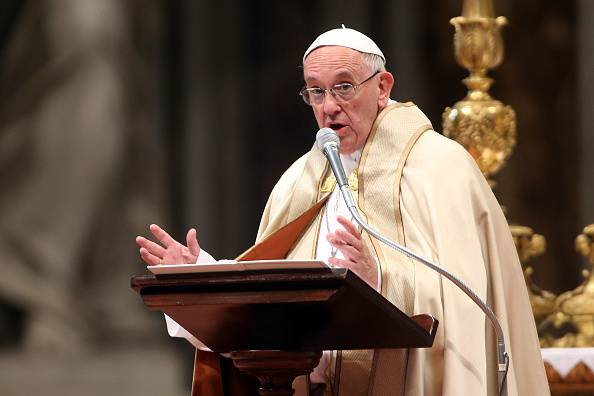 Papa Francesco (Franco Origlia/Getty Images)