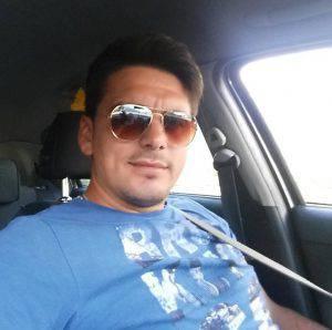 Bujar Krasnaj, la vittima dell'incidente (Facebook)