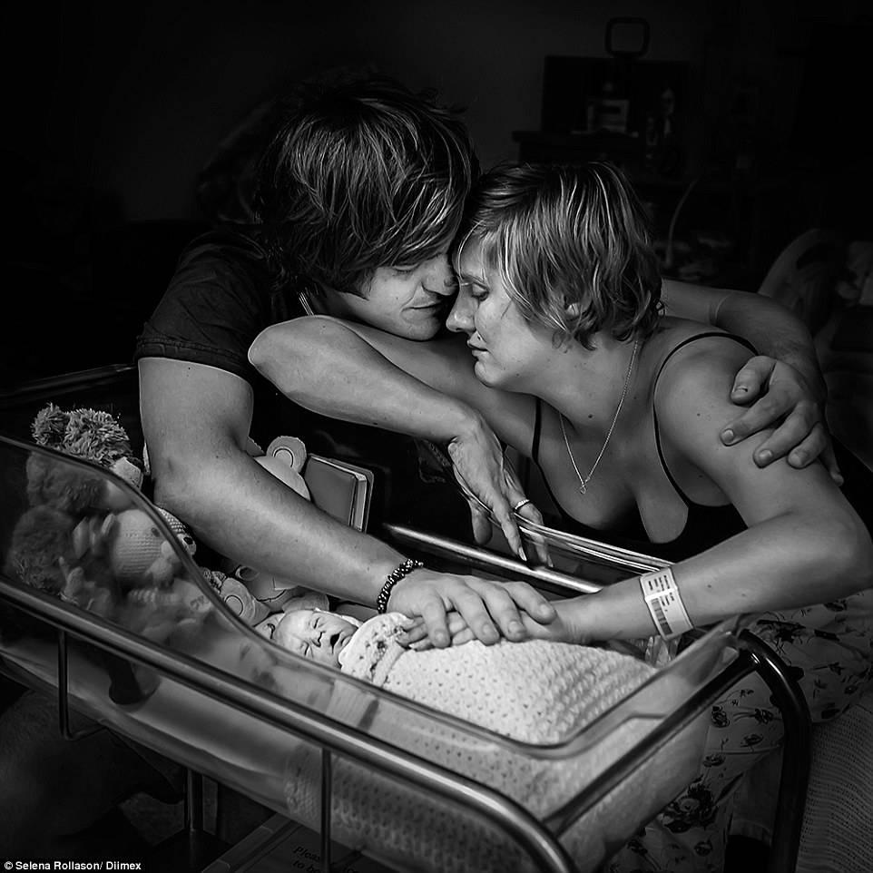 Il momento magico del parto: c'è chi riesce a catturarlo