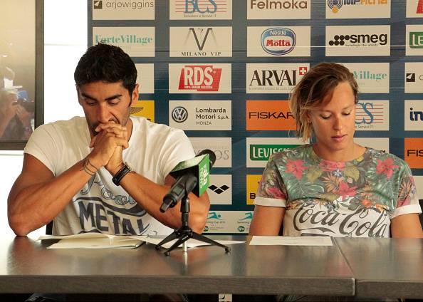 Federica Pellegrini e Filippo Magnini (Photo by Loris Roselli/NurPhoto via Getty Images)