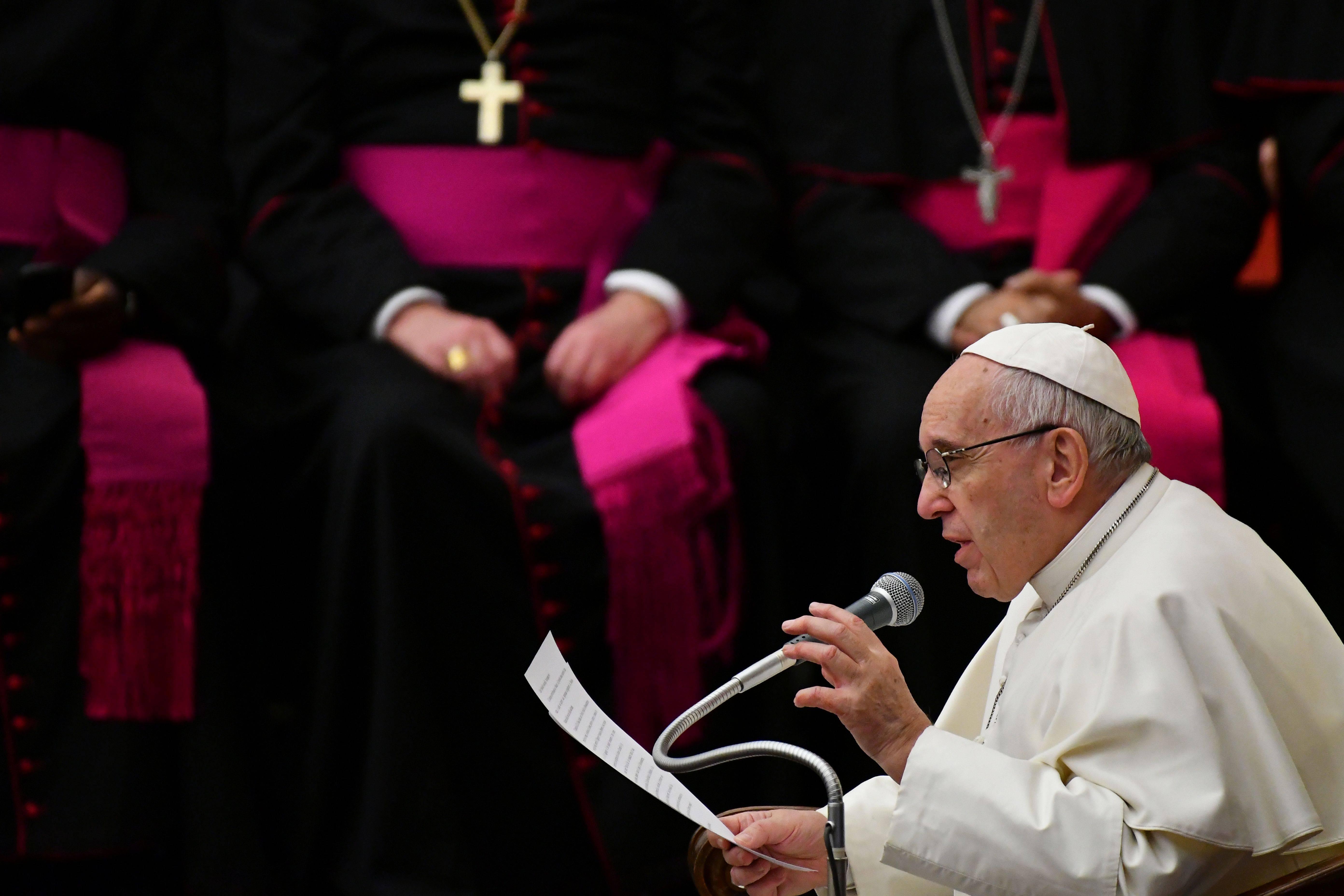 Papa Francesco (VINCENZO PINTO/AFP/Getty Images)
