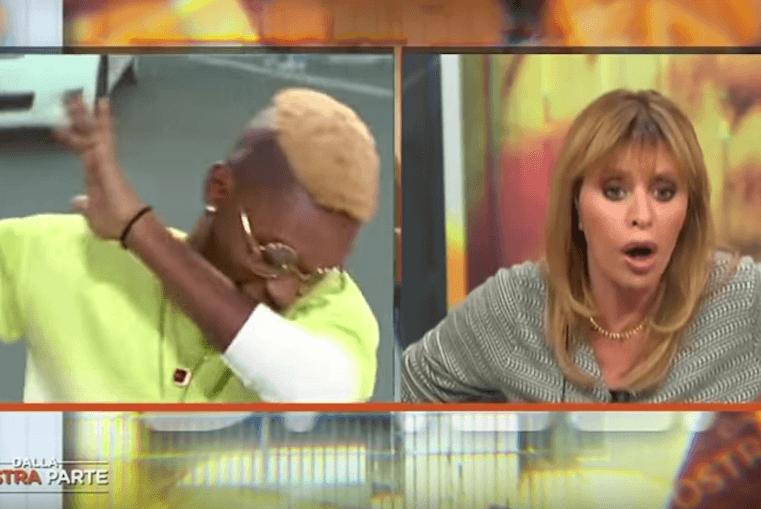 Il rapper difende i profughi, la Mussolini s'infuria -VIDEO