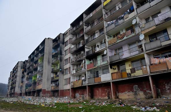 Degrado in un quartiere residenziale (repertorio,SAMUEL KUBANI/AFP/Getty Images)
