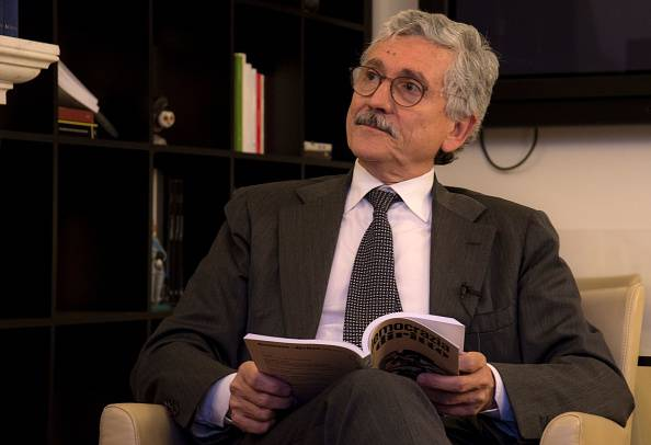 Massimo D'Alema (FILIPPO MONTEFORTE/AFP/Getty Images)
