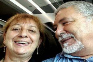 Gianna Del Gaudio e il marito (foto dal web)