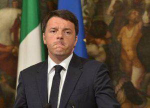 Il premier dimissionario Matteo Renzi (Websource/archivio)