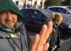 La coppia di mendicanti (foto dal web)