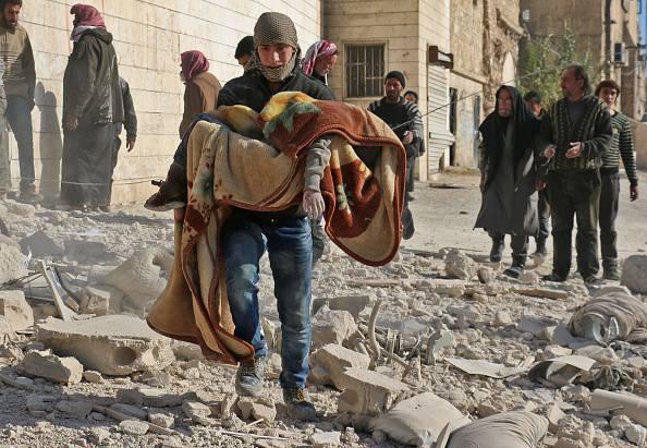 Nell'inferno di Aleppo, angoscia per decine di bambini
