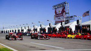 Un momento del Ferrari Day (Websource/archivio)