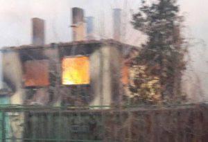 Le prime immagini della tragedia (foto dal web)
