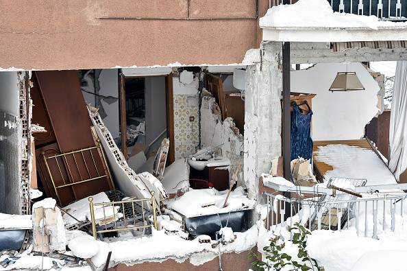 Si salva dal terremoto, ma il destino è beffardo