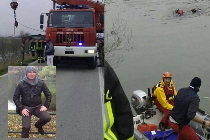 Perde controllo dell'auto e finisce in fiume: muore poliziotto 44enne