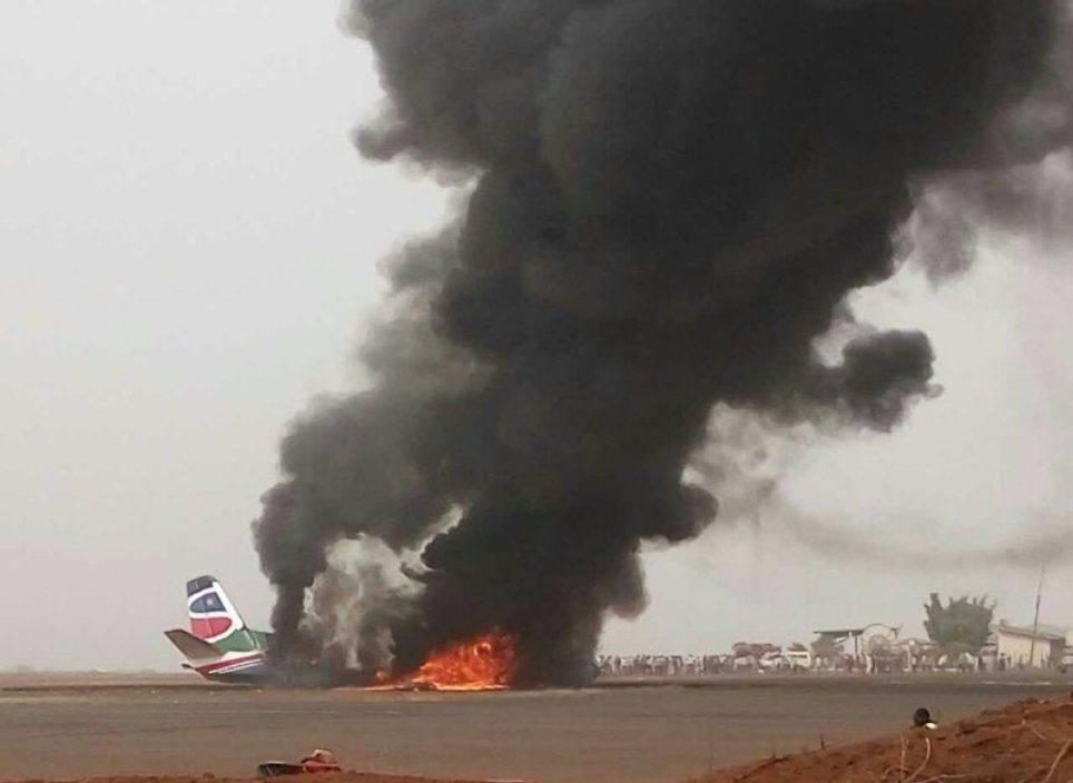 """Terribile incidente aereo in Sud Sudan: """"Sono tutti morti"""""""