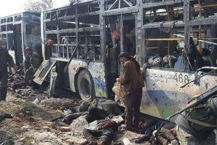 Autobomba contro i bus dei profughi: strage in Siria