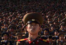 in guerra con la Corea del Nord