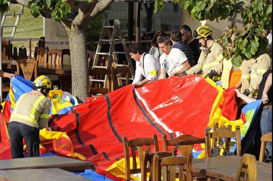 Esplode castello gonfiabile, muore bimba di 6 anni