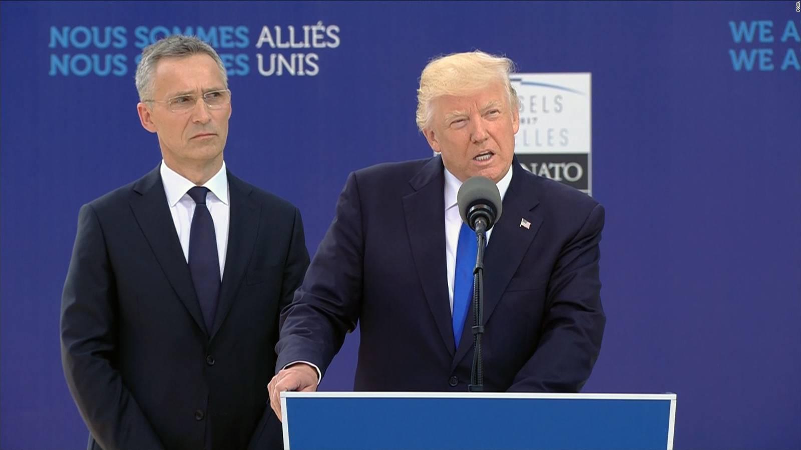 """Vertice Nato, Trump: """"Senza impegno Manchester sarà solo l'inizio"""""""