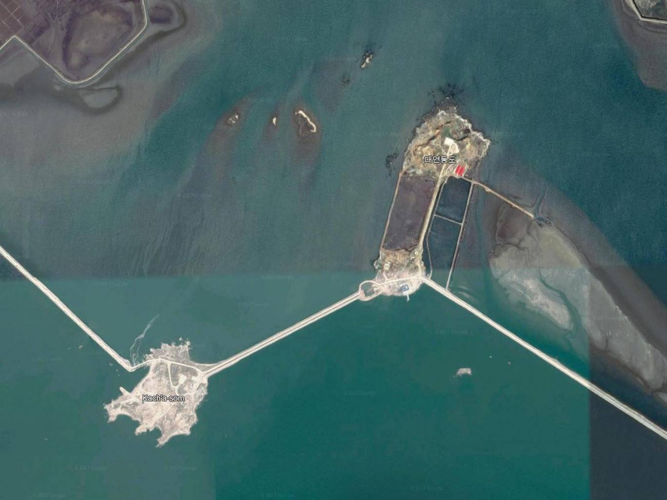 un'isola artificiale