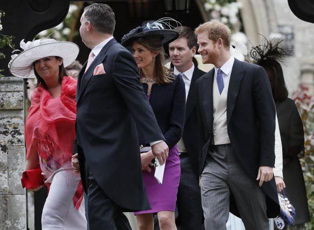 Il solito Harry: il figlio di Lady D. lascia il matrimonio di Pippa