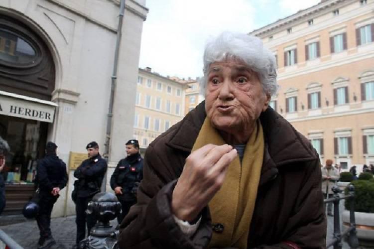 Roma: morta a 91 anni la signora Annarella,