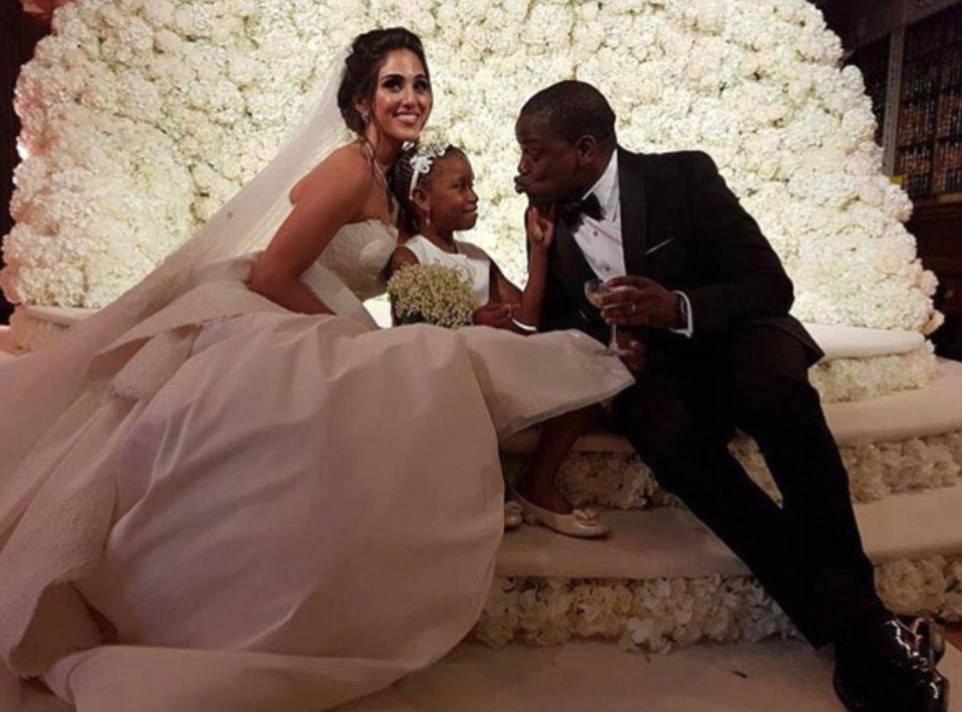 Modella in bancarotta sposa miliardario nigeriano: il matrimonio è da sogno