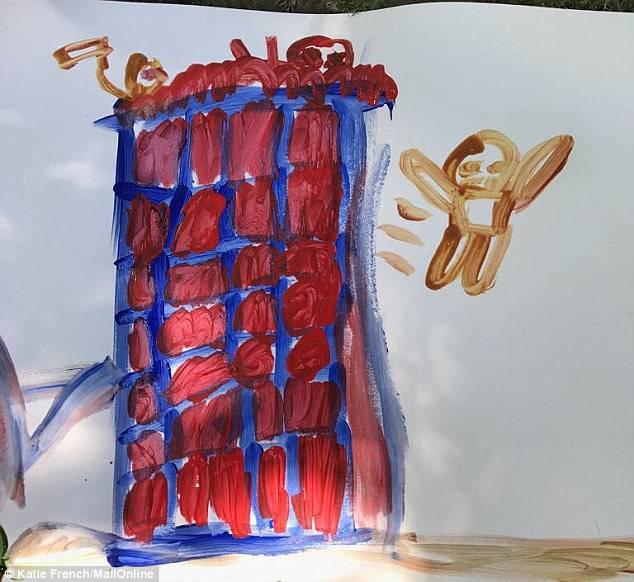 disegni della Grenfell Tower
