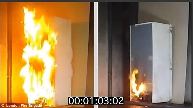 Grenfell Tower, così il frigo è diventato una torcia incandescente -VIDEO