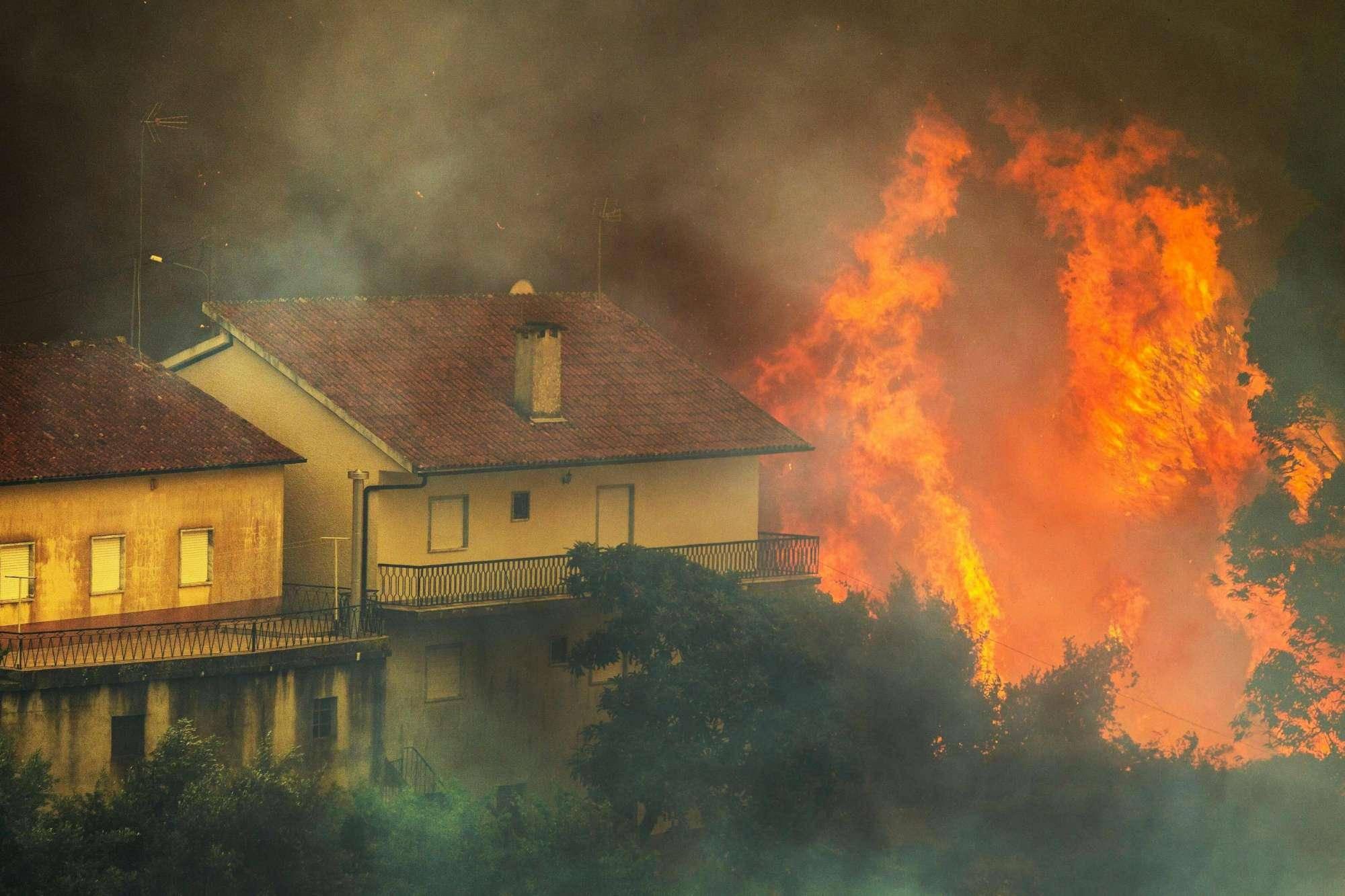 Un altro grande incendio in Portogallo