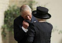 Funerale della contessa Mountbatten