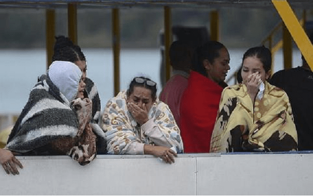 Affonda un traghetto: bilancio disastroso