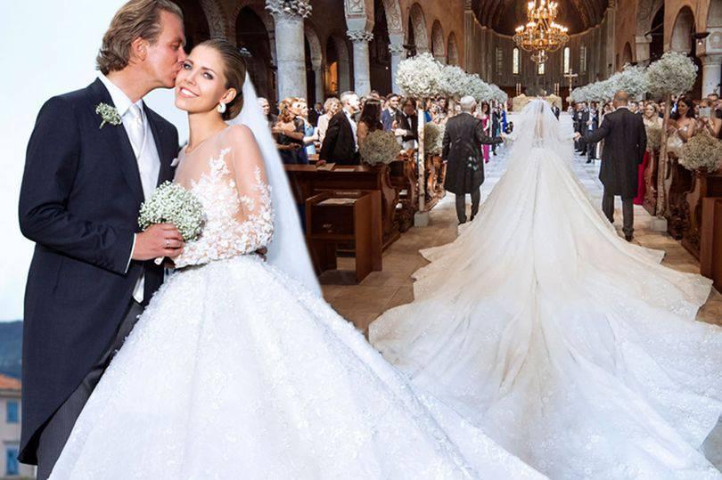 L'erede di Swarowski si sposa, il matrimonio è da sogno