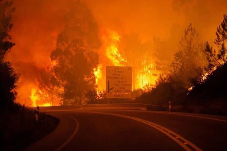 Incendio in Portogallo, almeno 39 morti