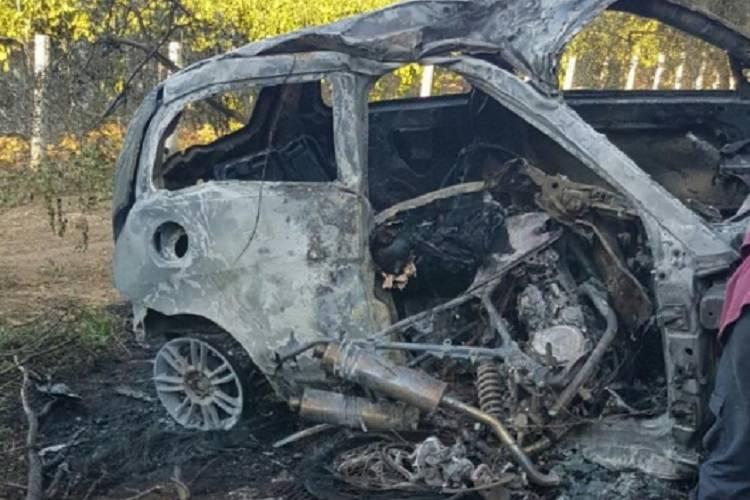 Tragico incidente sulla Cisterna-Campoleone: auto esce fuori strada e prende fuoco
