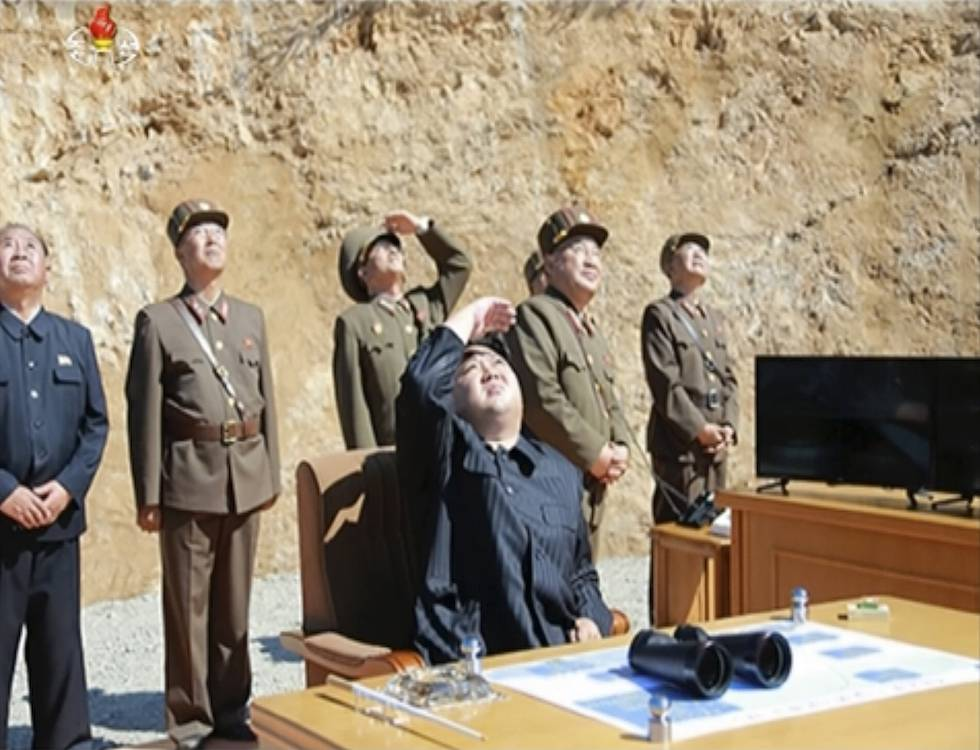 Nord Corea, il successo del nuovo test missilistico