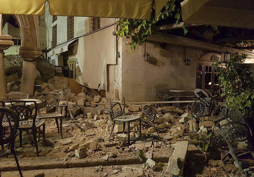 kos terremoto