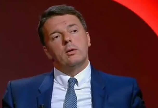 Mentana-Renzi, lite in diretta tv – VIDEO