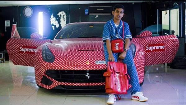 Riceve in regalo una Ferrari per i 15 anni, ecco come la trasforma