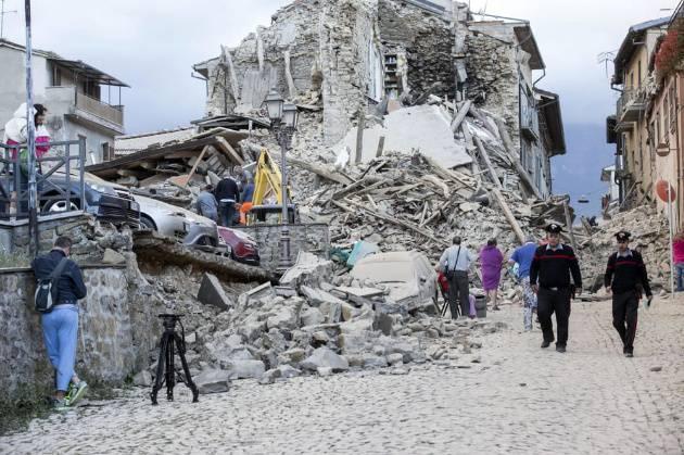 Trema ancora la terra: un'altra scossa ad Amatrice