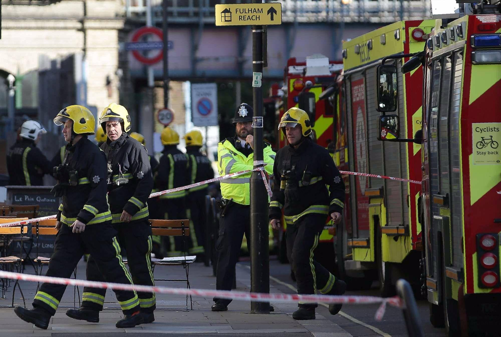 Londra esplosione attentato