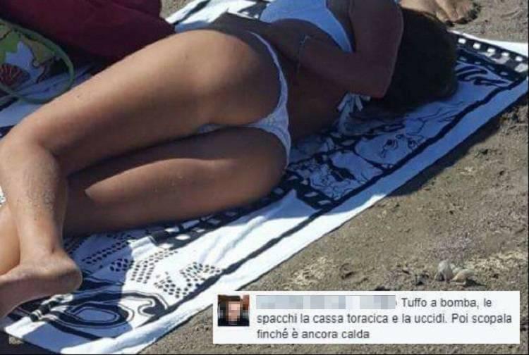 Posta su Facebook foto scattata di nascosto: la reazione è sconcertante