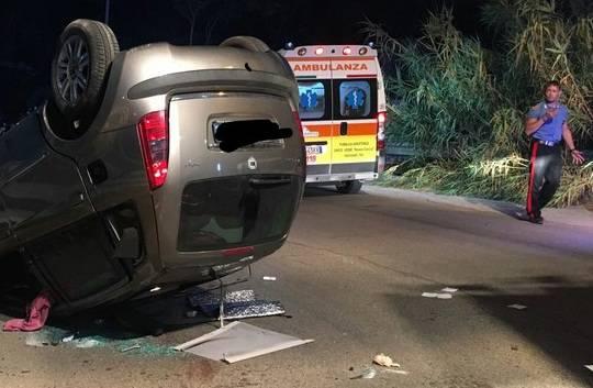 Taranto, incidente mortale nel cuore della notte: morto un giovane