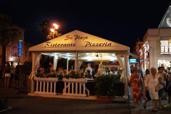 Sa Playa ristorante
