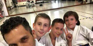 insegnante di karate