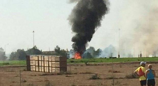 Disastro aereo durante la parata militare – VIDEO