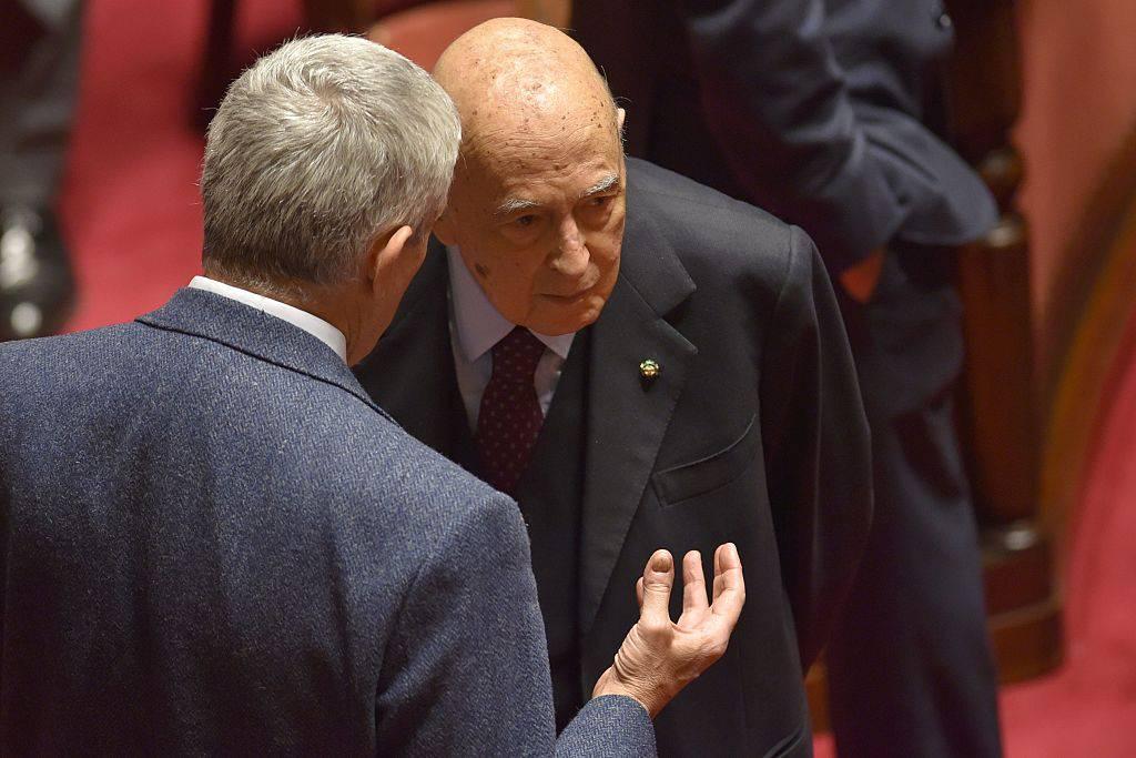 Duro intervento sulla legge elettorale, poi Napolitano ha un malore