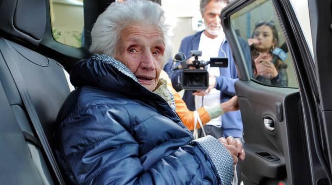 Sfrattata a 95 anni dalla sua abitazione, ora Peppina torna a casa